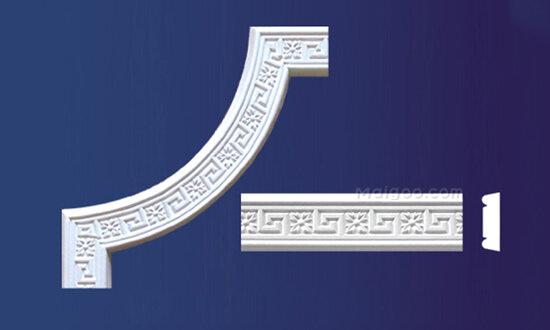 穗华石膏板 花角 平线系列石膏角线效果图高清图片