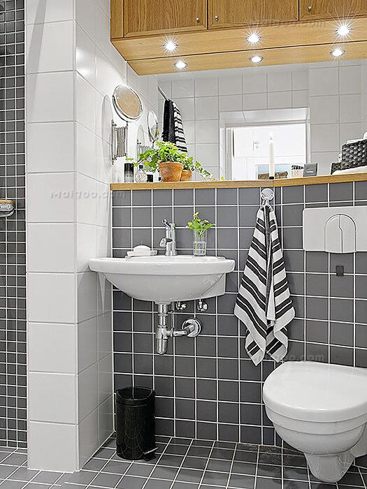 浴室装修效果图欣赏 家庭卫生间效果图大全图片