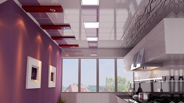 厨房集成吊顶效果图 厨房吊顶装修效果图欣赏