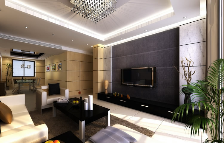 电视墙装修设计效果图 电视墙装修图大全