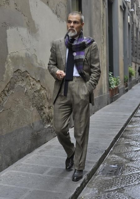 中年男士穿衣搭配技巧 中老年男士时尚搭配图片