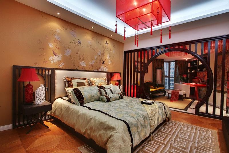 中式老人房装修效果图图片