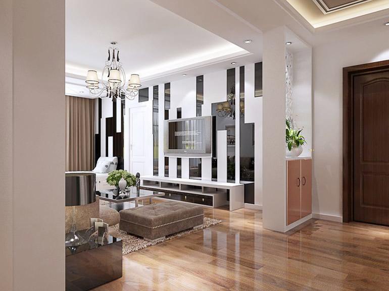现代风格装修样板房装修效果图 让家充满高雅气质